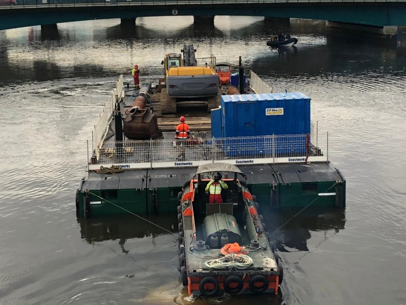 ABCO Marine awarded River Lagan Dredge